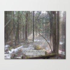 Still Woods Canvas Print