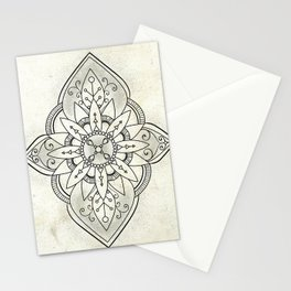 Rustic Neutral Mandala Stationery Cards