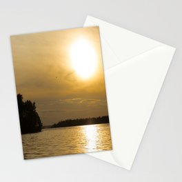 Against The Sun Bridge Stationery Cards