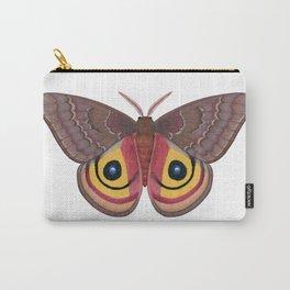 io moth (Automeris io) female specimen 1 Carry-All Pouch