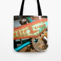 orphan black Tote Bags featuring The Orphan by sarah mah