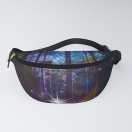 wolf in the forest Fanny Pack