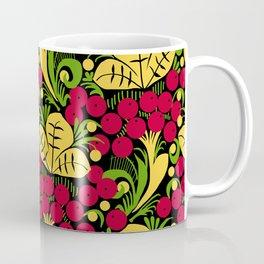 Folk Art Floral Coffee Mug