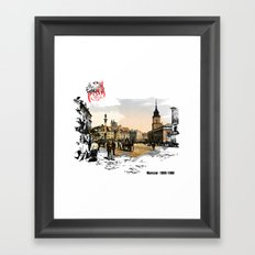 Poland, Warsaw 1890-1900 Framed Art Print
