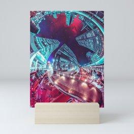 Akihabara Distortion Field Mini Art Print