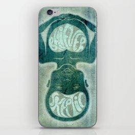 Skeptic / Believer iPhone Skin