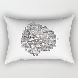 Buenos Aires Map Rectangular Pillow