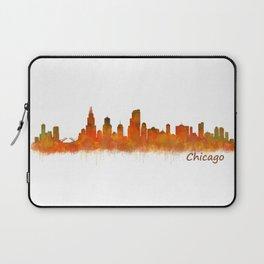 Chicago City Skyline Hq v2 Laptop Sleeve