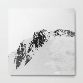 Peaks Metal Print