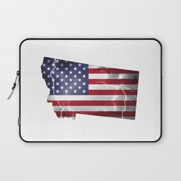 My Heart is in Montana State United States Laptop Sleeve