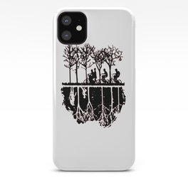 Stuck in the upside down, Strange eleven thing gift iPhone Case