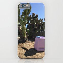 DesertTV I iPhone Case
