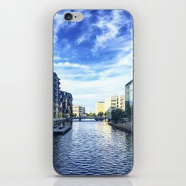 Reflection on Reflection iPhone Skin
