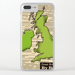Great Britain By Rail Clear iPhone Case