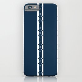 White columns with star details - version six iPhone Case