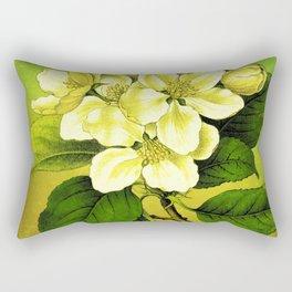 Apple Branch Rectangular Pillow