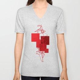 Reds Unisex V-Neck