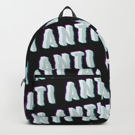 Anti - Typography Backpack