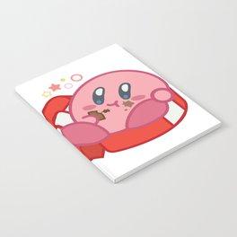 Kirby + Chocolate Notebook