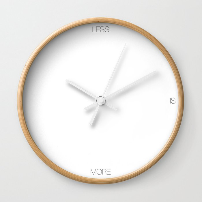 LESS Wall Clock