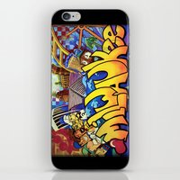 milwaukee iPhone & iPod Skins featuring MILWAUKEE: heartMilwaukee by Amanda Iglinski