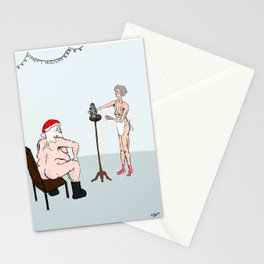 Raunchy Christmas Stationery Cards