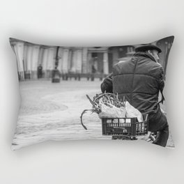 Rainy morning in Turin Rectangular Pillow