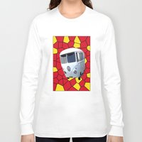 vw Long Sleeve T-shirts featuring Mc VW by Bruce Stanfield