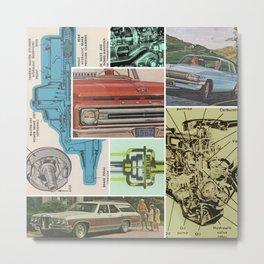 Sunday Driveshaft Metal Print