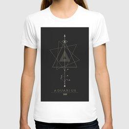 Aquarius Zodiac Constellation T-shirt