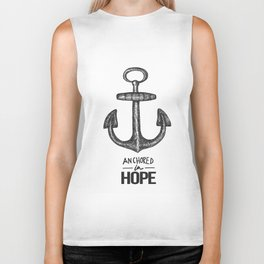 Anchored Biker Tank