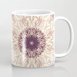 Rose Gold Flourish Coffee Mug