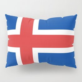 Flag: Iceland Pillow Sham