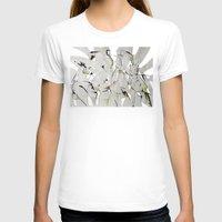 women T-shirts featuring women by KA Art