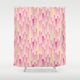 Future Stripes Shower Curtain