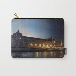 Musee d'Orsay Day to Night Transition - Paris Carry-All Pouch