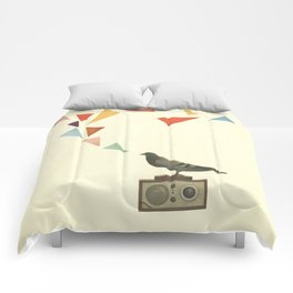 Pigeon Radio Comforters