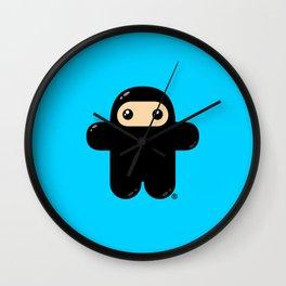 Wee Ninja Wall Clock