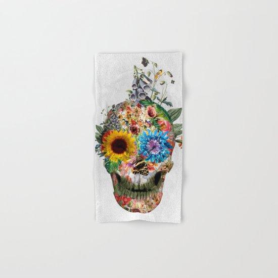 Skull - Punks Not Dead II Hand & Bath Towel