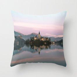 Bled, Slovenia IV Throw Pillow