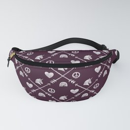 Sugar and Spice Compass Fanny Pack