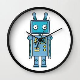 Bunbot Wall Clock
