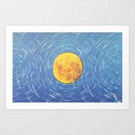 Loner Art Print