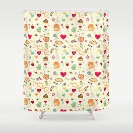 Cake Pattern Shower Curtain