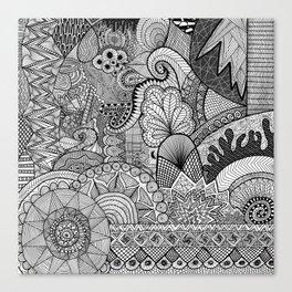 Doodle 3 Canvas Print