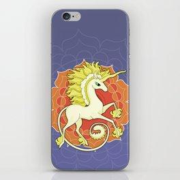 Vendel Unicorn - the sun iPhone Skin