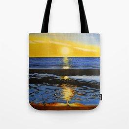 Sunset on the Hudson Bay  Tote Bag