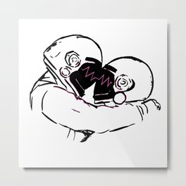 Stole The Show Metal Print