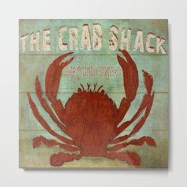 the Crab Shack Metal Print