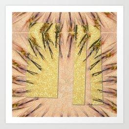 Intropression Makeup Flowers  ID:16165-134558-56051 Art Print